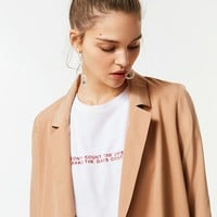 UO Drapey Belted Blazer | Urban Outfitters