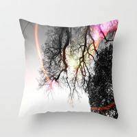 The Optimist Throw Pillow by DuckyB (Brandi)