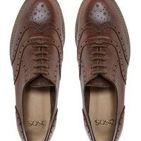 ASOS MATCH Leather Brogues at asos.com
