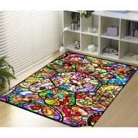 Best All Disney Heroes Stained Custom Blanket Size 58x80 Inch