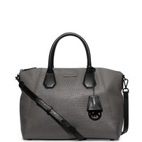 Campbell Large Leather Satchel | Michael Kors