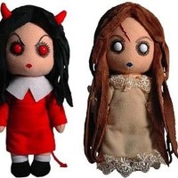 Living Dead Doll Creepy Cuddlers Plush: Set Of 2