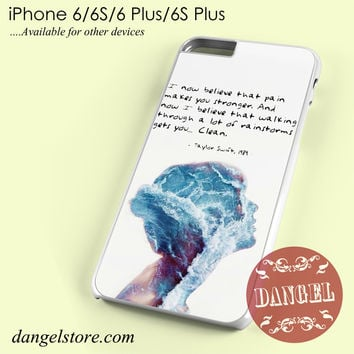 Taylor Swift 1989 Quotes Phone case for iPhone 6/6s/6 Plus/6S plus