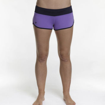 WOD Gear Purple WOD Shorts (XS Only)