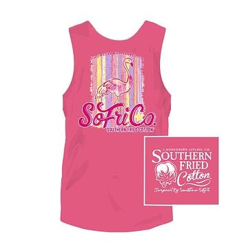 Tickled Pink Tank in Pink Lemonade by Southern Fried Cotton