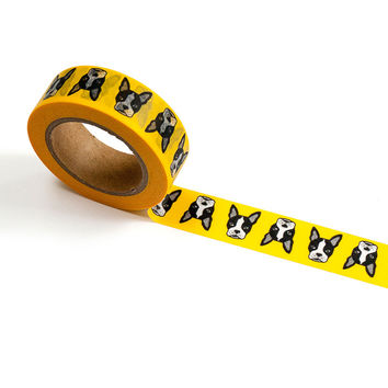 Boston Washi Tape in Yellow