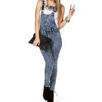 Sale-button Front Overalls