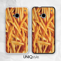French Fries food funny phone cover - HTC one m7, m8 case - htc one mini, one max case - Nokia lumia 520, 920, 1520 case - L37