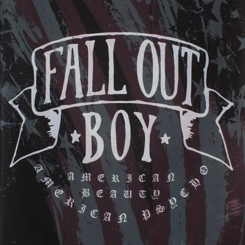 Fall Out Boy American Beauty Printed Flag