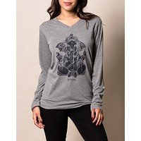 Ganesh TriBlend Long Sleeve Unisex Tee