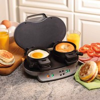 Amazon.com: Hamilton Beach 25490A Dual Breakfast Sandwich Maker