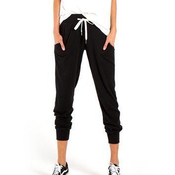 n:PHILANTHROPY - Women's Miles Jogger - Black Cat