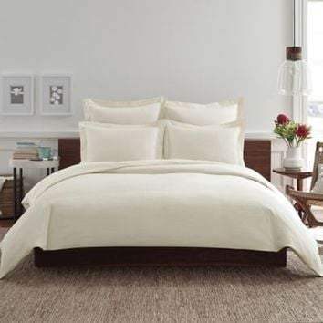 Real Simple® Clip N Zip Duvet Cover in Ivory