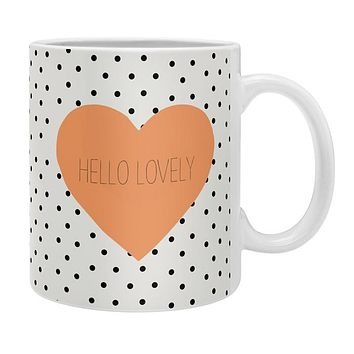 Allyson Johnson Hello Lovely Coffee Mug