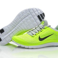 Nike Free 3.0 V5 Women's Shoes Electric Lime/Gray/Black
