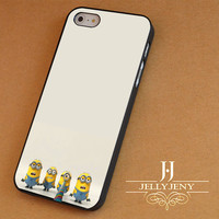 Funny Minions Banana Song iPhone 4 5 5c 6 Plus Case | Samsung Galaxy S3 S4 S5 Note 3 4 Case | iPod 4 5 Case | HtC One M7 M8