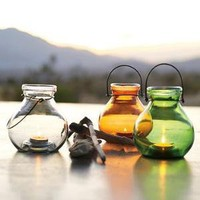Recycled-Glass Lantern | west elm