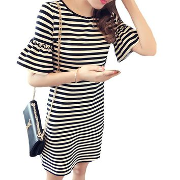 Color Me Striped Mini Dress