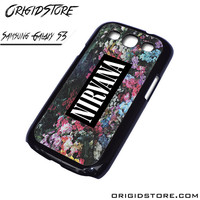 Nirvana Floral Flower Case For Samsung Galaxy S3 Case