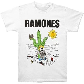Ramones Men's  Loco Live T-shirt White