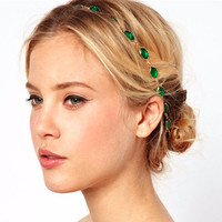 Emerald Tiara Headband