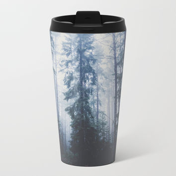The mighty pines Metal Travel Mug by happymelvin