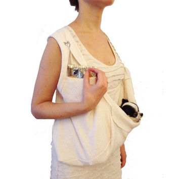 Pocket Scarf Sling White