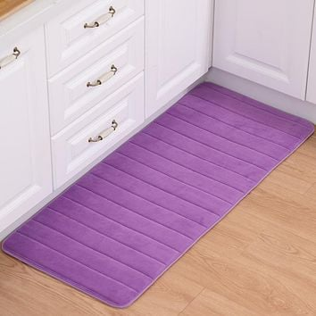 Memory Foam Bathroom/Kitchen Rugs
