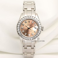 Rolex Lady DateJust Pearlmaster 80299 18K White Gold