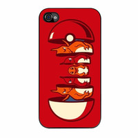 Pokemon Charmander Evolution iPhone 4 Case