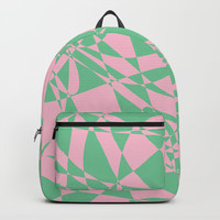 Pink Doodle Backpacks by Rosie Brown