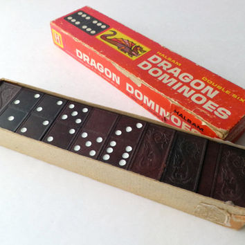 Double Six Dragon Dominoes by Halsam