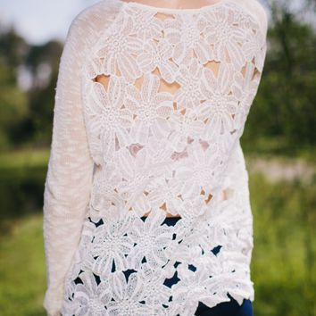 Back To The Lace Sweater