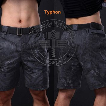 New Wolf Enemy Tactical Military Army Brand Kryptek Nomad Half ,tactical Cargo Camo Short