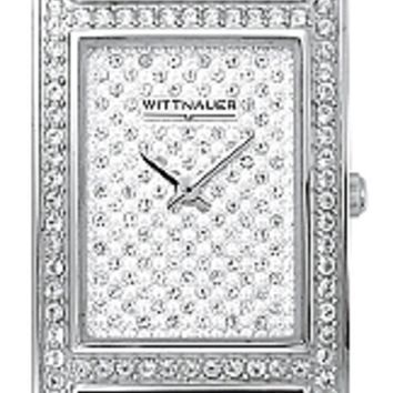 Wittnauer Krystal Collection Men's Pave Dial Bracelet Watch 10A08