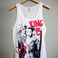 BEYONCE - King B Tank Top (XS-XL)