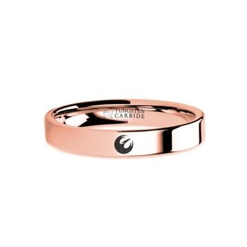 Star Wars Rebels Phoenix Cell Squadron Rose Gold Tungsten Ring