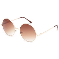Full Tilt The One Sunglasses Gold One Size For Women 23129462101