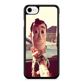 Disneyland Toy Story Woody Selfie Iphone 8 Case