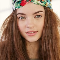 Tropical Print Headwrap