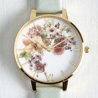 Olivia Burton Luxe Time of the Season Watch in Mint