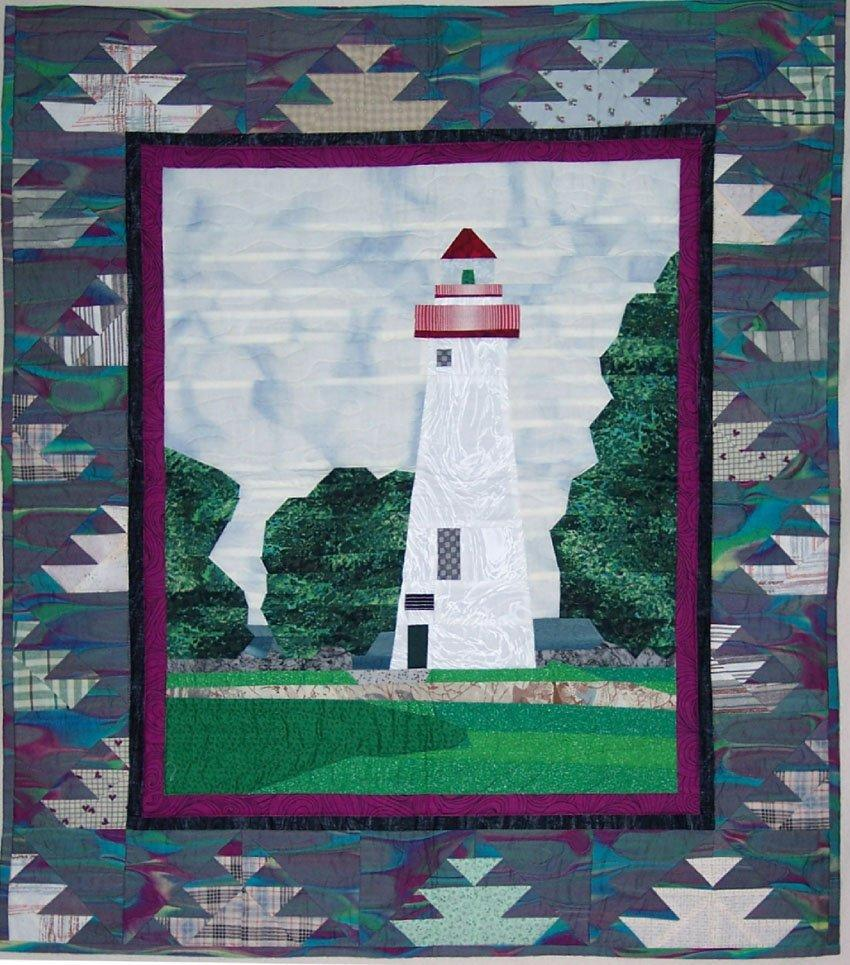 Lighthouse Quilt Pattern : Quilt Pattern: Marblehead Lighthouse from thecraftstar.com