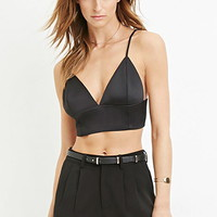 Contemporary Spaghetti Strap Crop Top