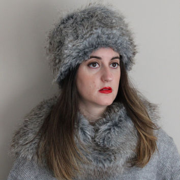 Russian hat,faux fur hat, fur winter hat, warm hat, women winter fur hat