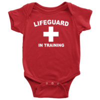 Lifeguard in Training - Baby Onesuit