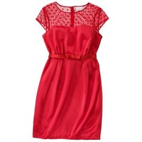 Kate Young For Target® Shift Dress -Red