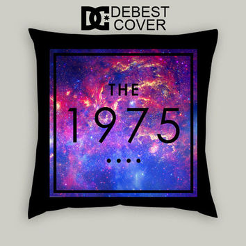 The 1975 Band Galaxy Nebula Pillow Cases Square Available In 16 x 16 Inches 18 x 18 Inches 20 x 20 Inches