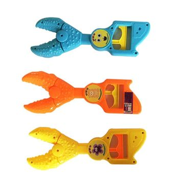 Crab Clip Jokes Stretch Finger Game Toy