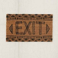 Magical Thinking Exit Door Mat- Grey 2X3