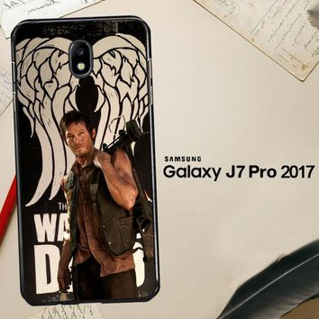 The Walking Dead Daryl Dixon Wings Z2791 Samsung Galaxy J7 Pro SM J730 Case